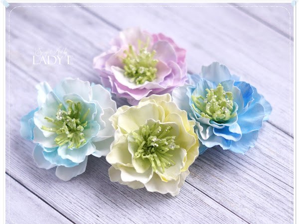 Foamiran Flowers & Video Tutorial