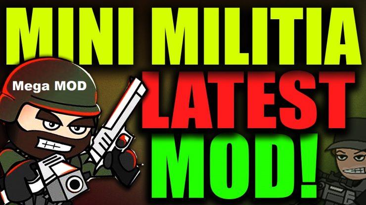 Mini Militia Mega Mod APK : One shot kill mod+ Unlimited Nitro