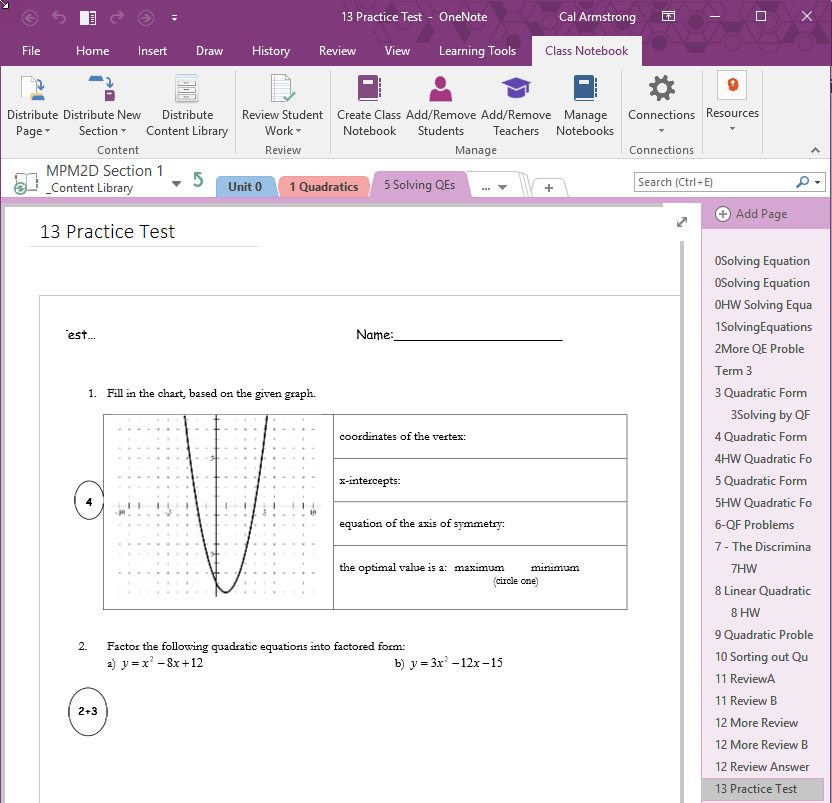 when onenote   u0026 the class tools  makes your life easier