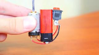 Mixer Pengocok Telur Mini Buatan Sendiri