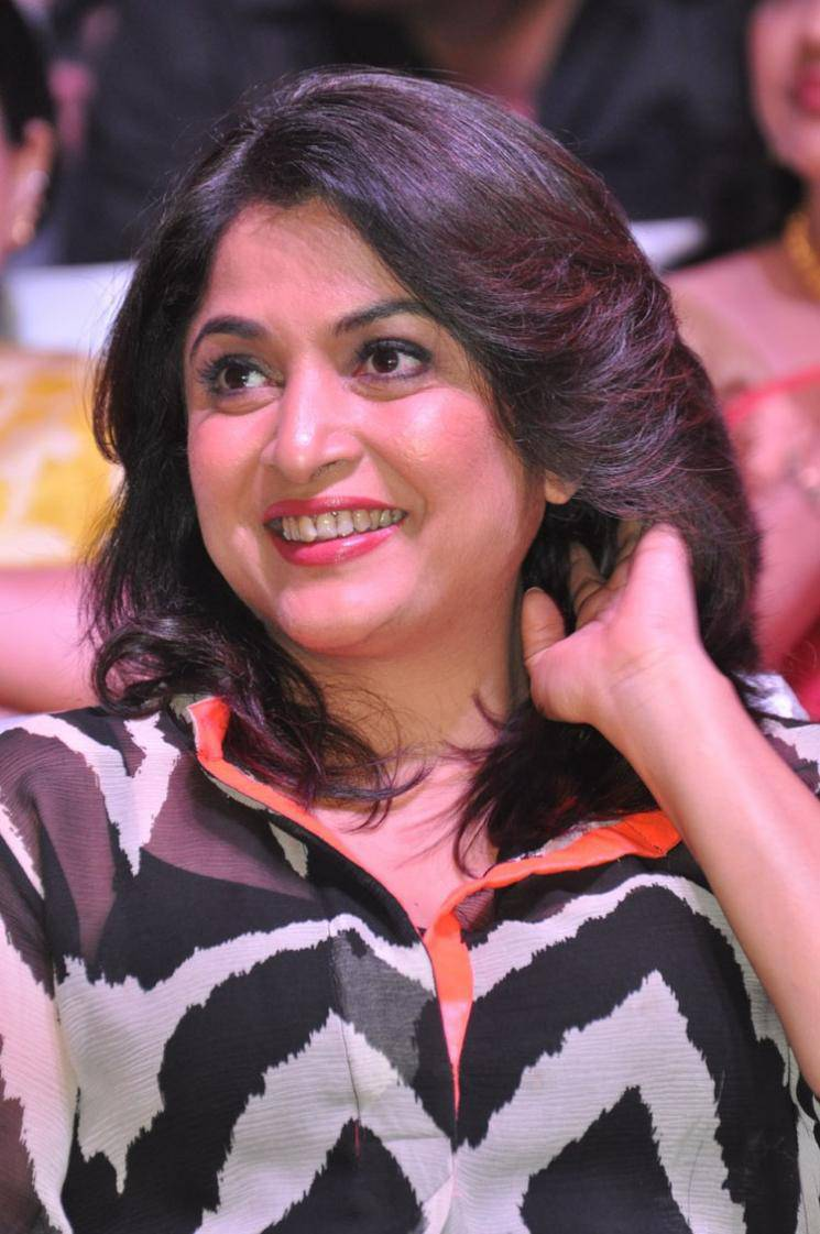 Ramya Krishna Latest Cute Stills In Black Dress