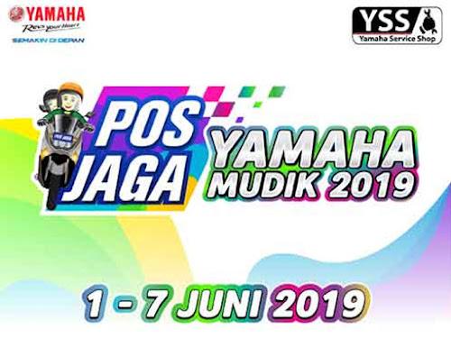 Pos Jaga dan Bengkel Jaga Yamaha di Jalur Mudik 2019