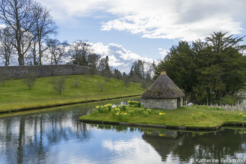 Blair Castle Hercules Garden Best Castles in Scotland for a Road Trip Itinerary