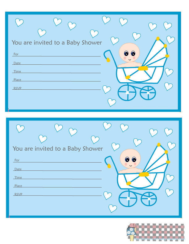 Baby in Carriage: Free Printable Mini Kit for Baby Shower ...