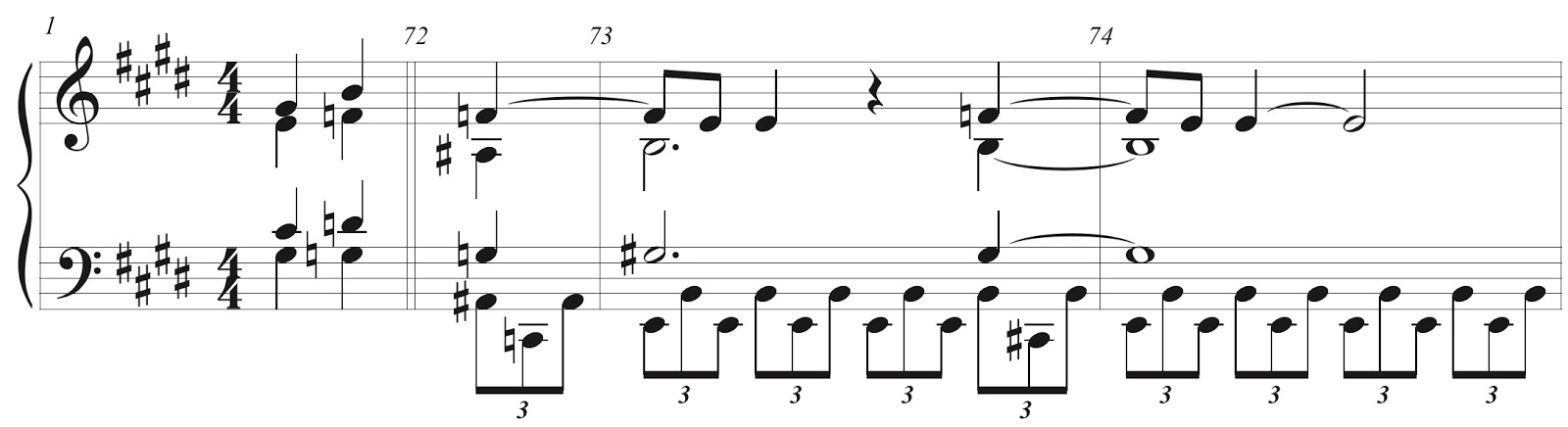 Musicellanea Chords Flip In Pfitzners String Quartet In C Sharp
