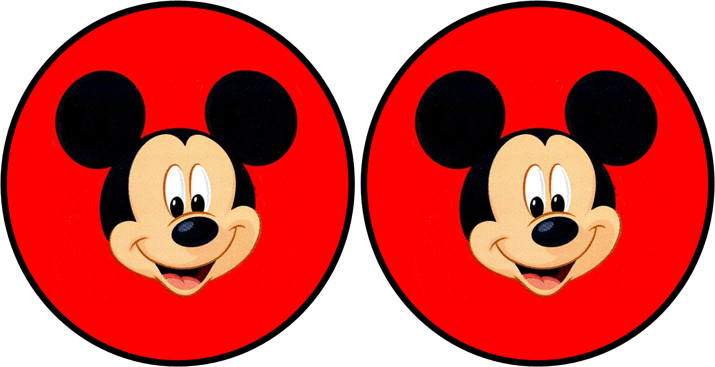 Mickey In Red Free Printable Party Kit Oh My Fiesta