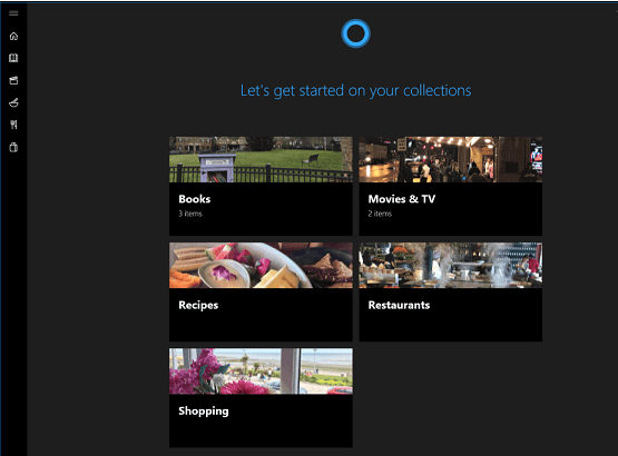How to Make Collections of your Favorites in Cortana on Windows 10