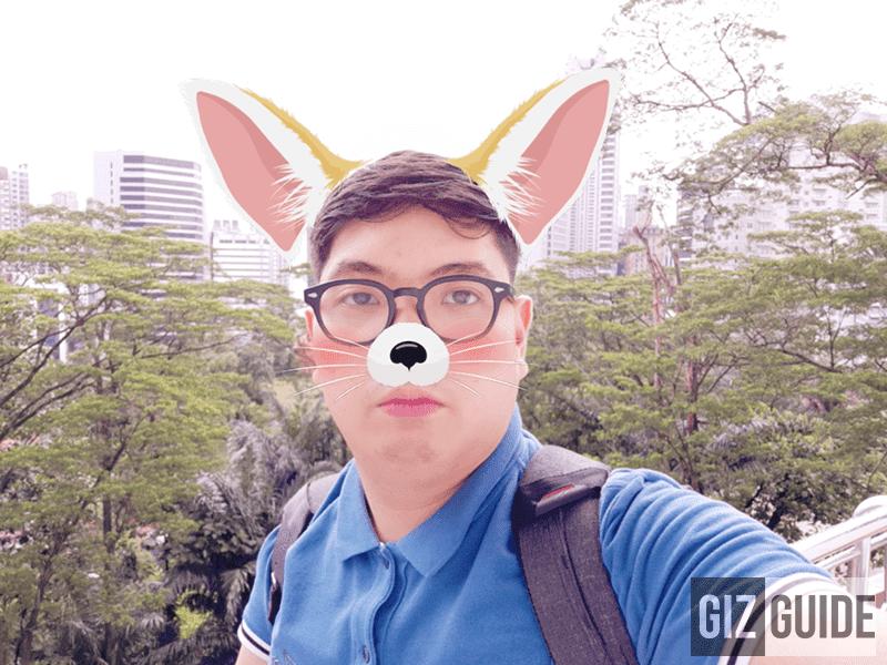AR emoji selfie!