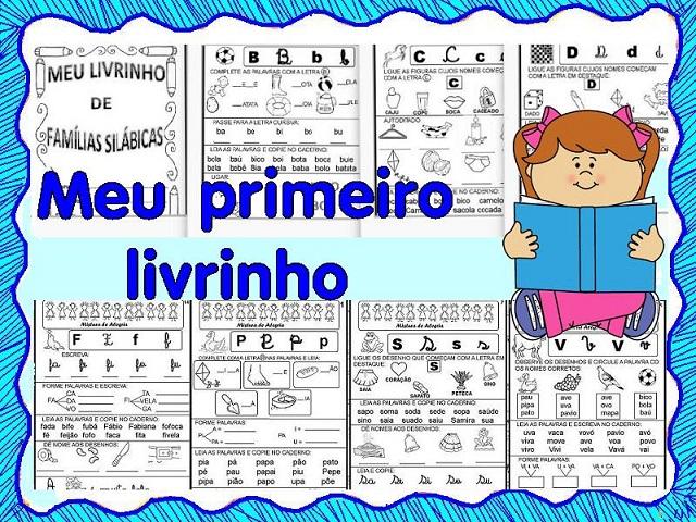 23 09 B 1 Atividades Preparatórias 2 Ofertas: CARTILHA DE ALFABETIZAÇÃO INFANTIL:LIVRO DAS FAMÍLIAS