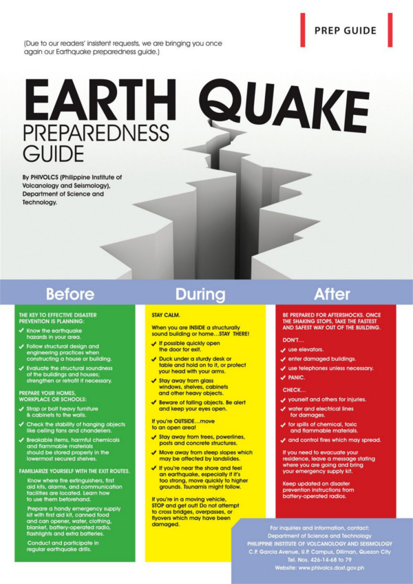 Earthquake Prep Guide