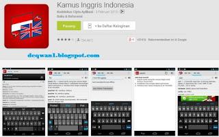 Kamus Inggris Indonesia Android Terbaik