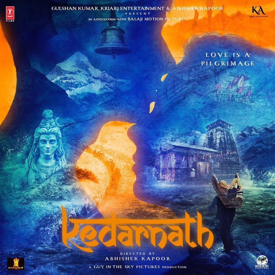 Sushant Singh Rajput and Sara Ali Khan's Kedarnath First Look Poster