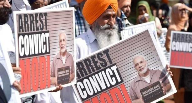 मुसलमानों पर हमले के ख़िलाफ़ अमेरिका में सिखों ने किया PM मोदी का जम कर विरोध