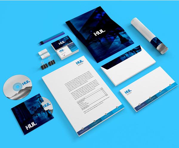 Inspirasi Desain Branding Identity - HUL Branding
