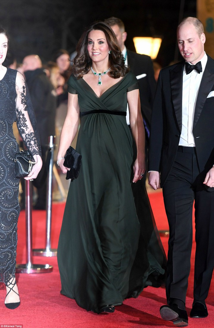 William and Kate Attend BAFTA Award