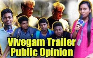 Vivegam Trailer Public Review And Reaction | Ajith Fans Slams Vijay Fans