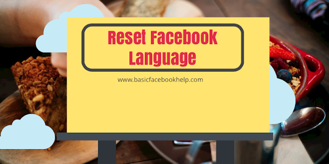 Reset Facebook Language