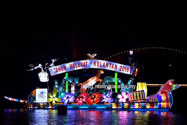Tourism Kelantan Float - Visit Kelantan 2016