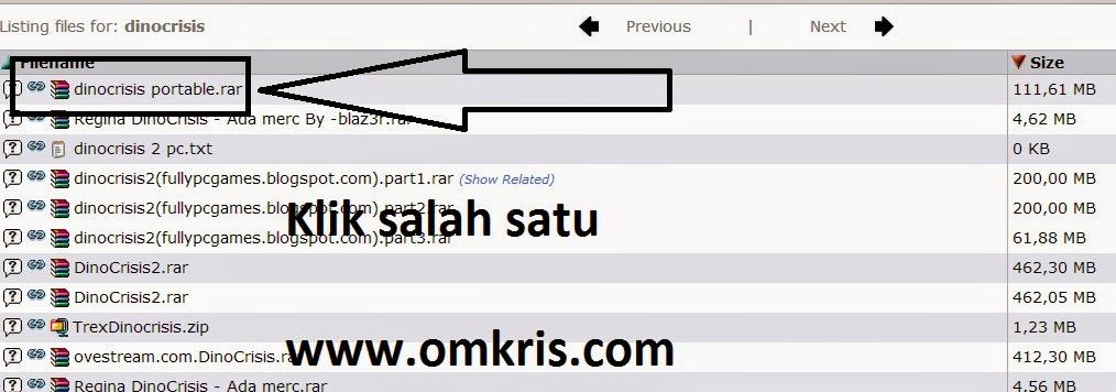 omkris.com : Cara Mudah Download Software Aplikasi Komputer, Game Dll