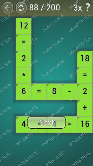 Math Games [Beginner] Level 88 answers, cheats, solution, walkthrough for android