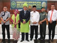 Wakil Wali Kota Hadiri Pelantikan Wakil PN Medan Kelas I A Khusus