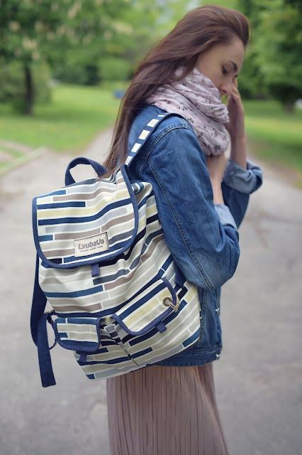 рюкзак синий купить