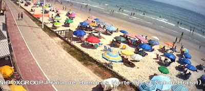 câmera ao vivo das praias de santa catarina