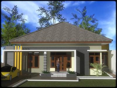 contoh desain rumah minimalis 1 lantai - desain gambar