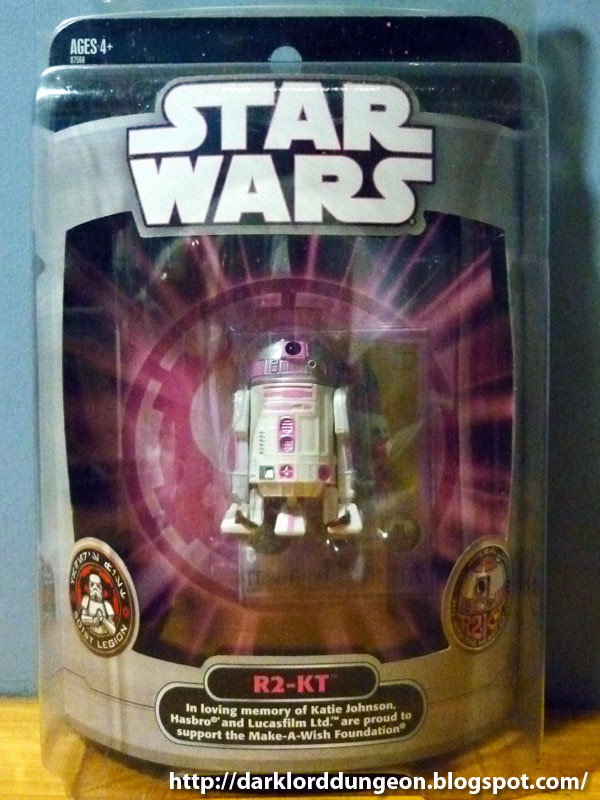 Dark Lord Dungeon Star Wars R2 Kt The Pink Imperial Droid With The
