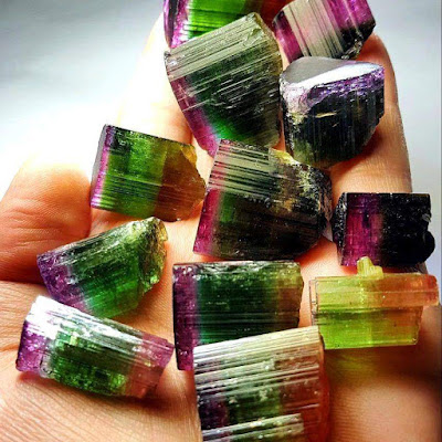 Tourmaline: Species and Color Varieties