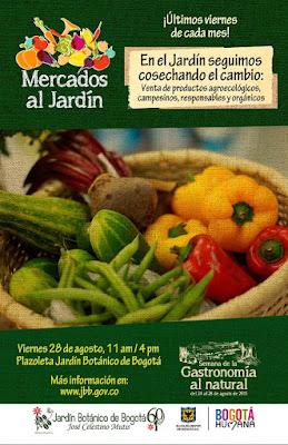 Mercados campesinos al Jardín Botánico