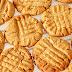 3-Ingredient Peanut Butter Keto Cookies