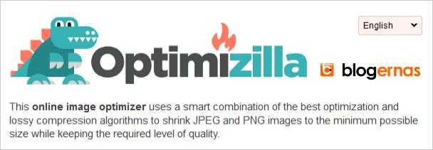 Cara Kompres Image secara Online di Optimizilla
