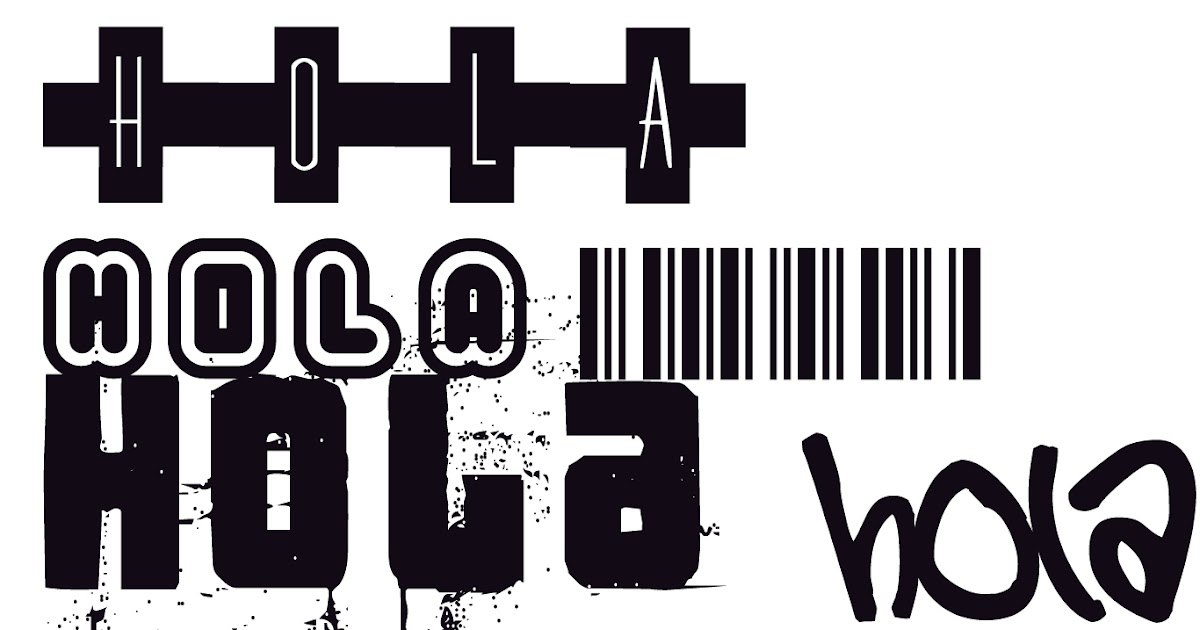 Download El Buen Blog: pack 1000 font(letras) para photoshop o word