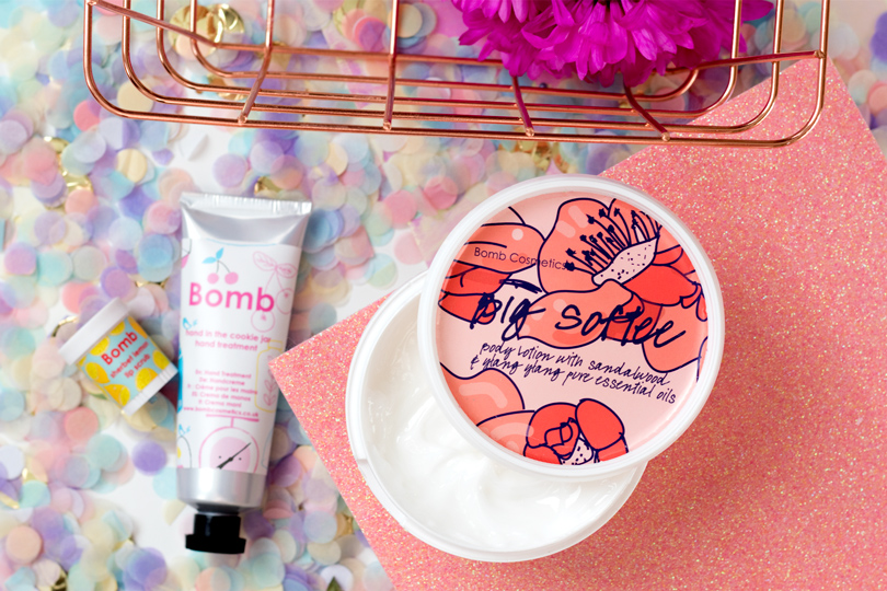 bomb cosmetics big softee body lotion