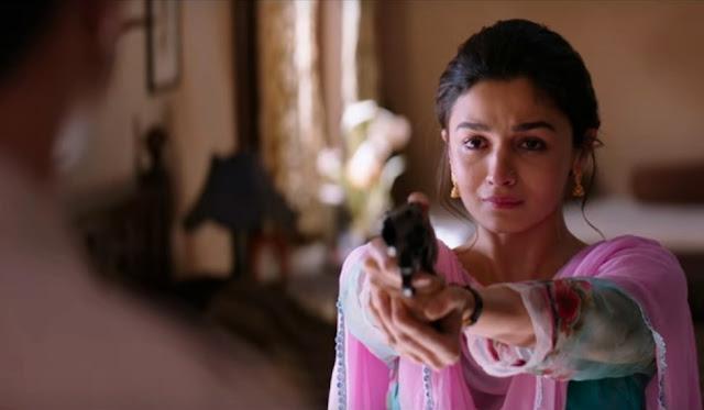 'Razi' Trailer, Alia Bhat, Holding a Gun, Mehgna Gulzar directorial, Dharma Productions