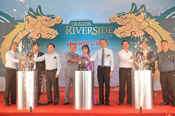 Chủ tịch Sovico tham gia lễ khởi công Dragon Riverside City