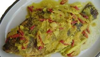 Resep acar ikan mas bumbu kuning