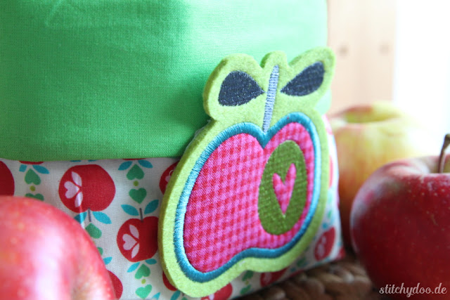 stitchydoo: Apfelkörbchen | It's all about apples - Utensilio