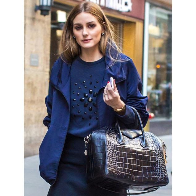 Olivia Palermo in NYC.