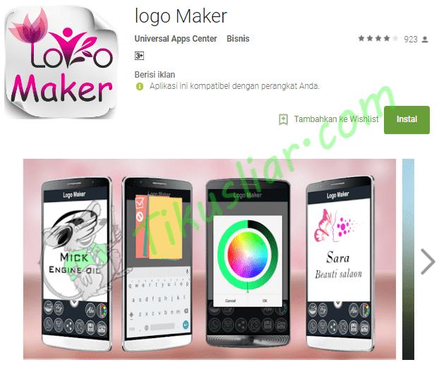 Aplikasi Pembuat Logo Terbaik untuk Android Gratis