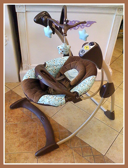 Kids Grow!: Graco Silhouette Swing