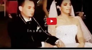 لفيديو لحظة وفاة عروسة أثناء جلوسها في الكوشة بجوار عريسها