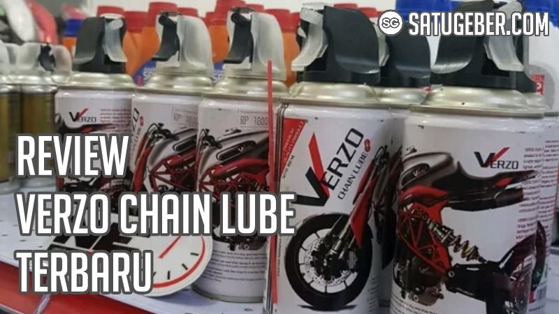gambar botol Verzo Chain lube pelumas rantai motor terbaik