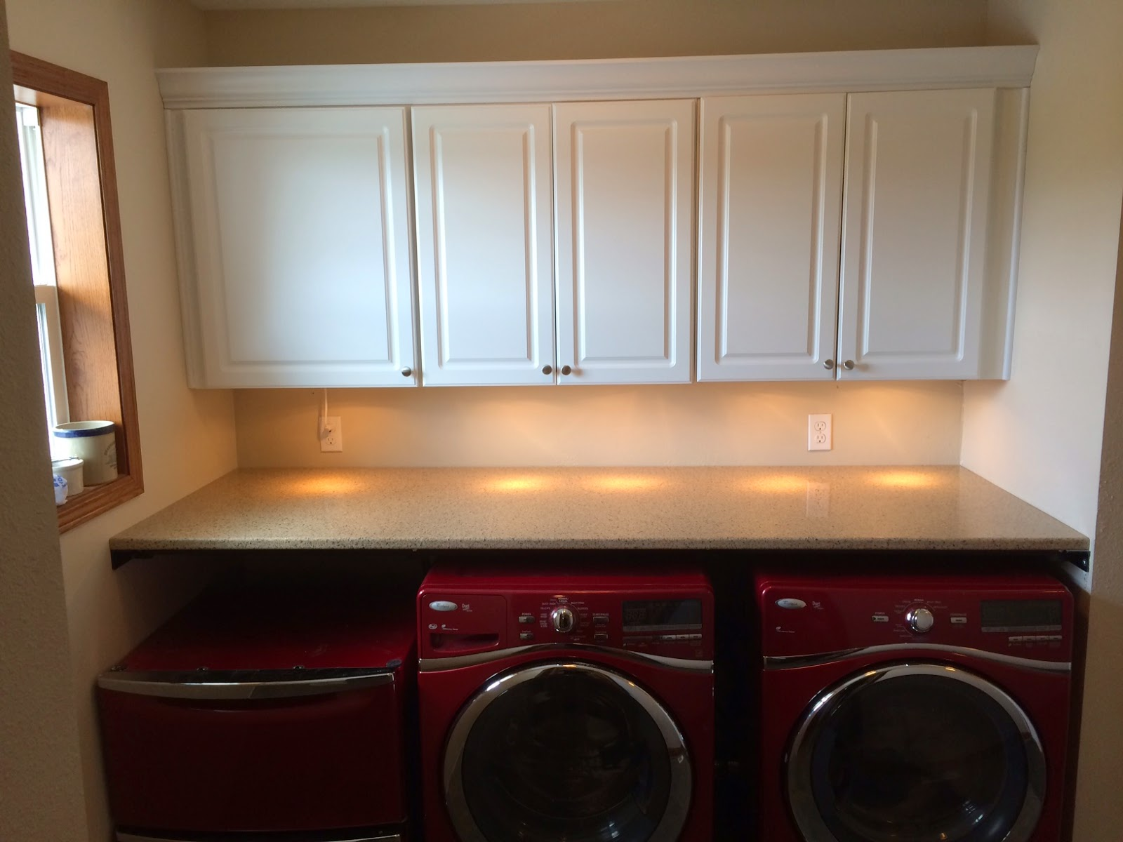 Counter Top Over Washer Amp Dryer Shawn Woodward Strong