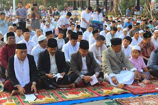 Pelaksanaan Shalat Idul Adha 1439 H / 2018 M