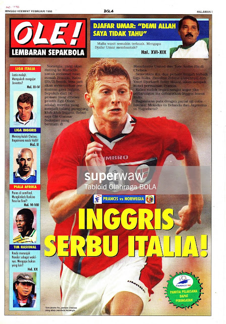 TORE ANDRE FLO NORWAY VS FRANCE 1998