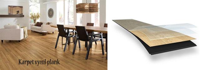 Jenis Karpet Lantai Vinyl Untuk Rumah dan Berbagai Bangunan