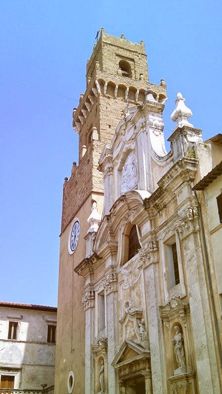 Pitigliano Catedral - Pitigliano, cultura e vinho na Toscana da Maremma!
