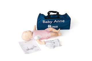 Manikin Baby Anne Laerdal CPR/AED